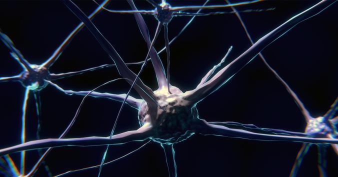 Illustration av neuron