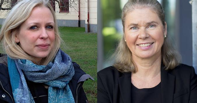 Jessica Nihlén Fahlquist och Anna T Höglund