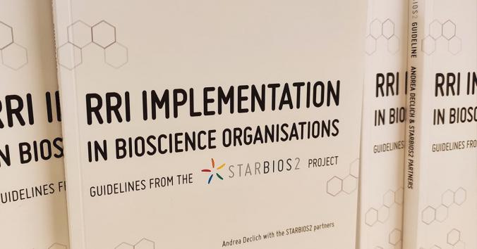 STARBIOS2-projektets guidelinebok