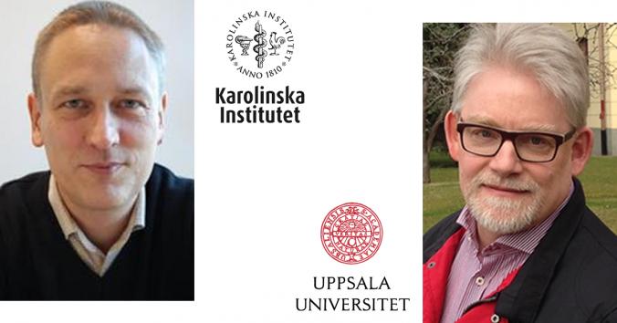 Gert Helgesson från Karolinska Institutet och Stefan Eriksson från Uppsala Universitets Centrum för forsknings- & bioetik